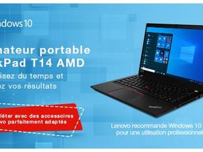 Le nouvel ordinateur portable d'affaires AMD de 14 pouces axé sur la performance