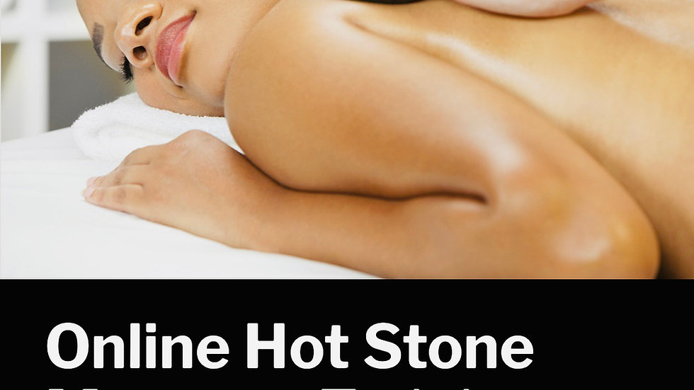 Online hot stone massage course