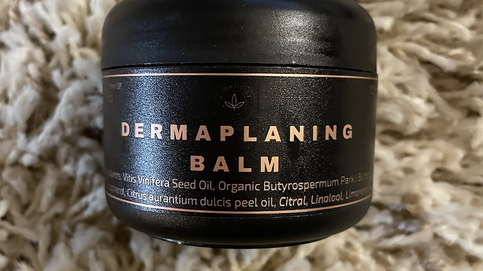Dermaplaning balm