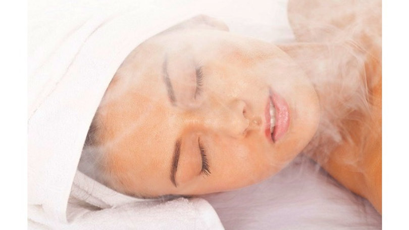 Steam and extraction deluxe facial