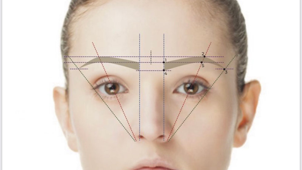 Extensive brow mapping manual