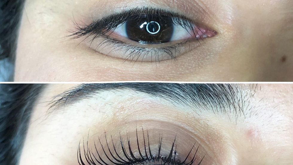 Lash lift and tint course