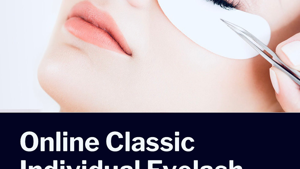 Online classic individual eyelash extensions