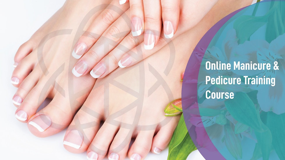 Online manicure and pedicure course