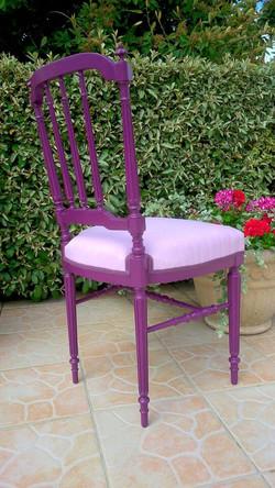Chaise Aubergine APRES