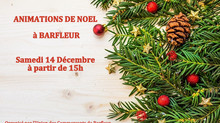 Animations de Noel à la boutique