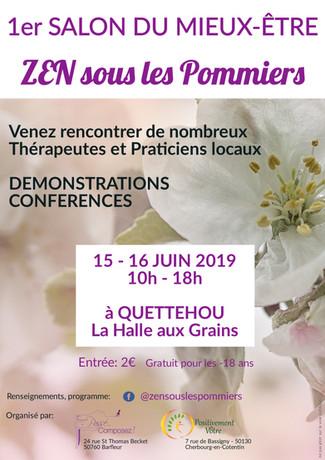 """1er Salon """"Zen sous les pommiers"""""""