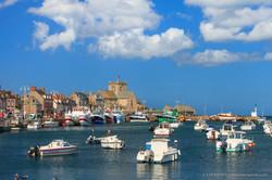 BARFLEUR, le Port