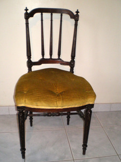Chaise Aubergine AVANT