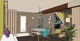 Projet Agencement et Décoration - visuels 3D
