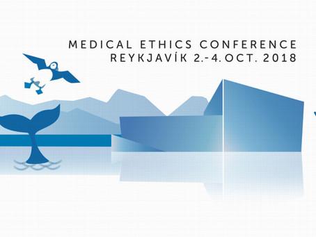Παγκόσμιο Συνέδριο Ιατρικής Ηθικής-Δεοντολογίας, Ρέικιαβικ-Ισλανδία, 2-4 Οκτωβρίου 2018