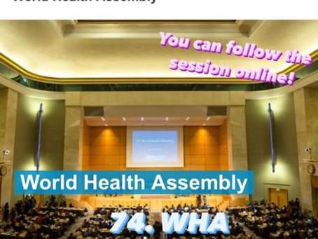 74η Παγκόσμια Διάσκεψη Υγείας του WHO - 24/5-1/6 - παρακολούθηση διαδικτυακά