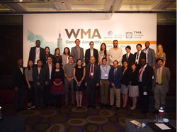 At the WMA General Assembly 2016