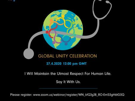 27/04 - Φοιτητές Ιατρικής από όλο τον κόσμο απαγγέλλουν τον Όρκο του Ιπποκράτη σε ζωντανή σύνδεση!