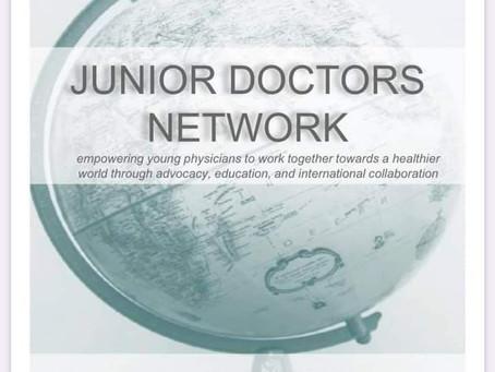 To 20ό Τεύχος του JDN Newsletter (October 2020) με παγκόσμια νέα των Νέων Γιατρών!
