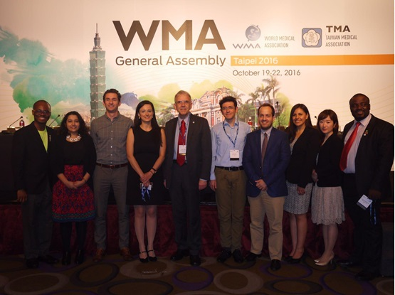 With WMA SG Dr Kloiber in Taipei