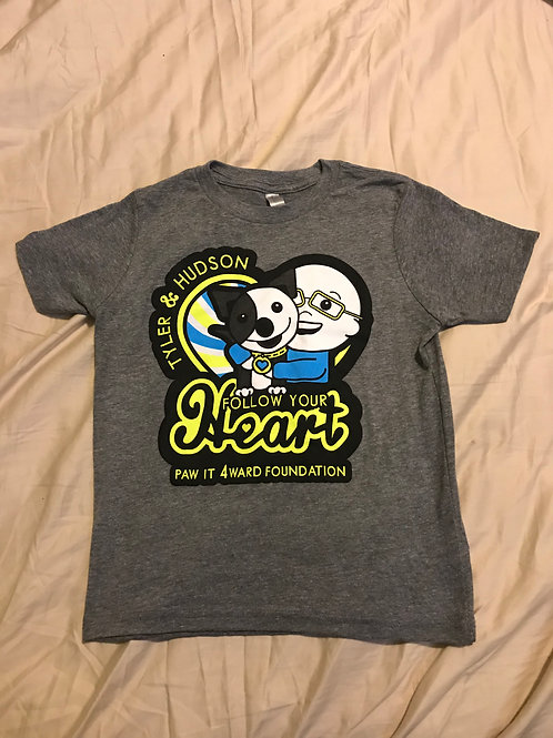 Kids Tyler and Hudson PawIt4Ward Tee Shirt