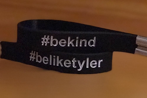 #beliketyler Silicone Key Chain