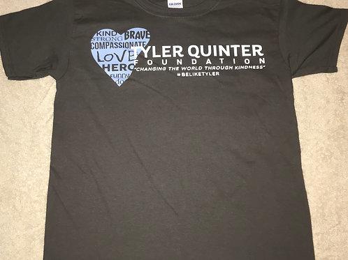 Tyler Quinter Foundation Tee Shirt