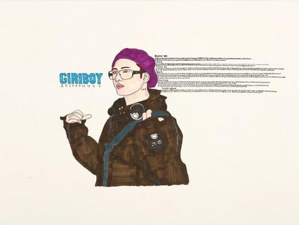 Rapper GIRIBOY
