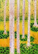 숲 속의 사계(봄)