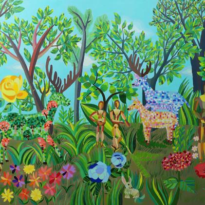 사슴이 있는 정원