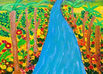 숲 속의 사계 (여름)