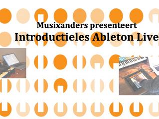 Introductieles elektronische muziek met Ableton Live Papagenohuis, Laren