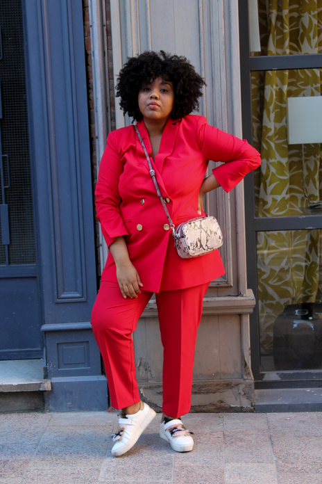 Total look rouge
