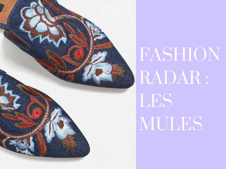 Fashion radar :  Mules moi aussi