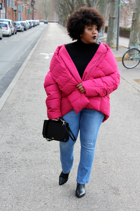 Oversize & pink