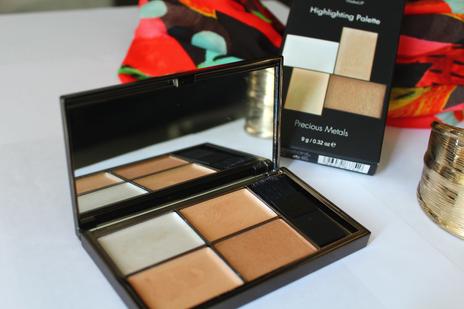 Sleek make-up et son highlighter : glowy power