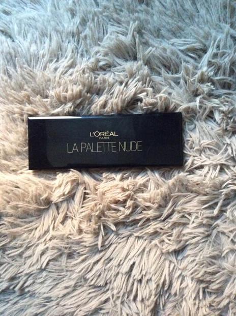 Présentation de la Palette Nude beige de chez l'Oréal