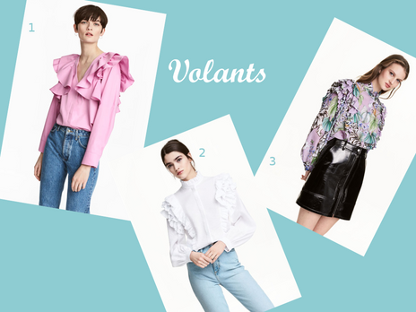 Fashion radar : Volants