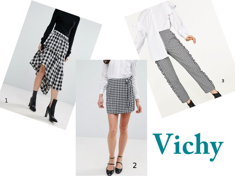 Fashion radar :  la tendance  vichy