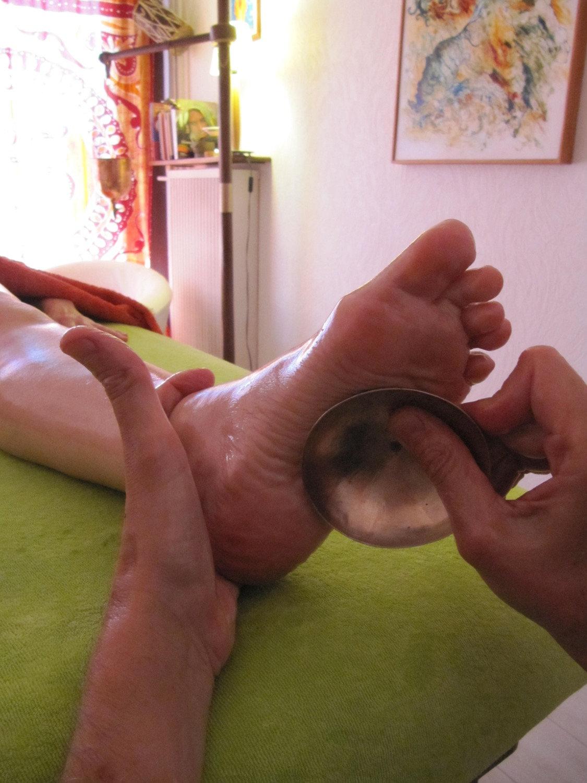 "Massage des pieds bol ""KANSU"""
