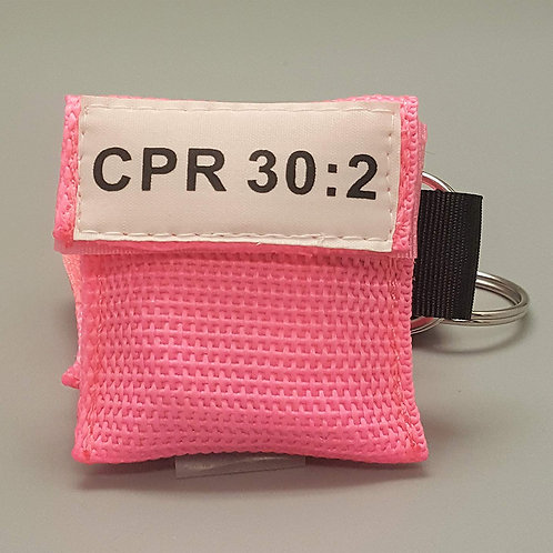 CPR Keychain Mask PINK