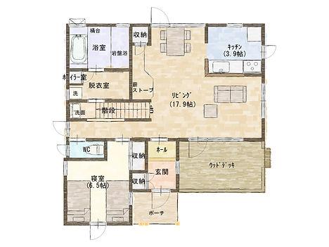 プラン1階(タンチョウ).JPG