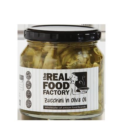 Zucchini in Olive oil
