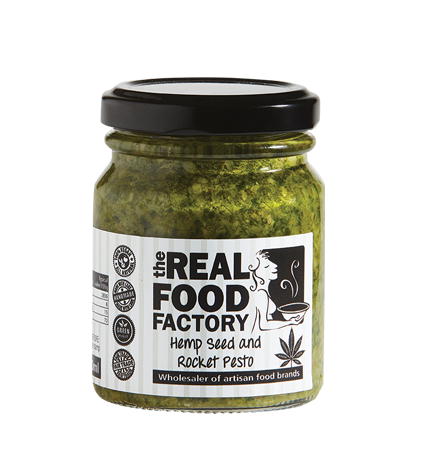 Hemp Seed and Rocket Pesto