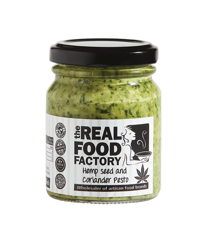 Hemp Seed and Coriander Pesto