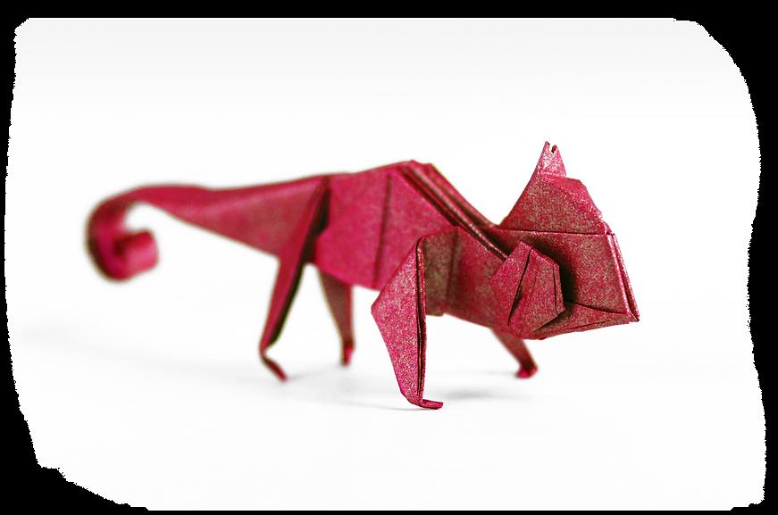 OrigamiChameleon