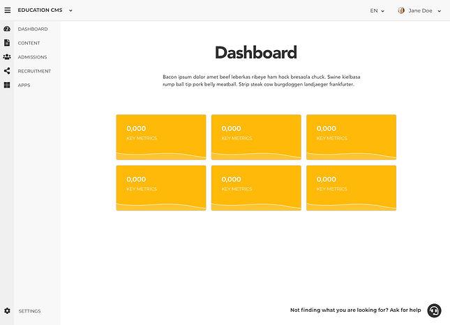 UX UI Design - CMS Dashboard.jpg