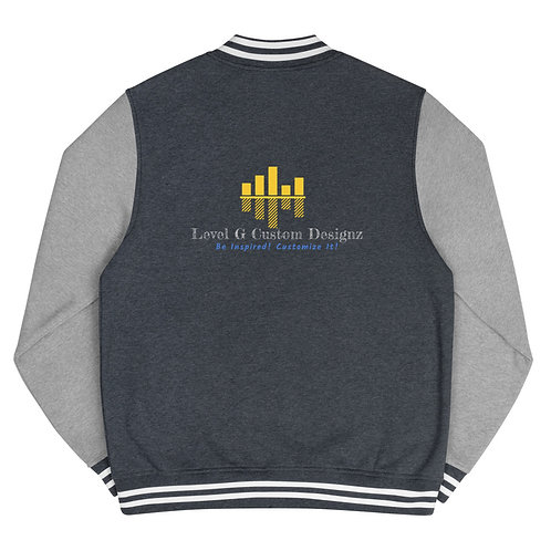 Customizable Men's Letterman Jacket (contact us for customization)