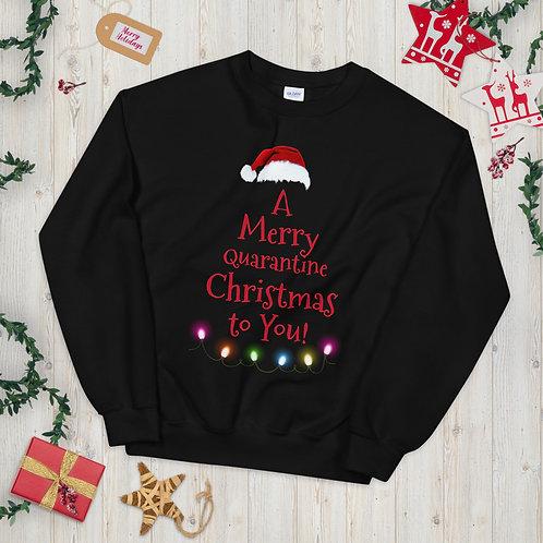 A Merry Quarantine Christmas Unisex Sweatshirt