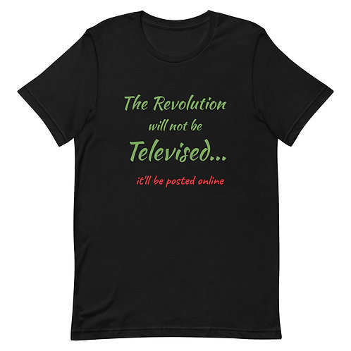The Revolution Will Be Posted Tee