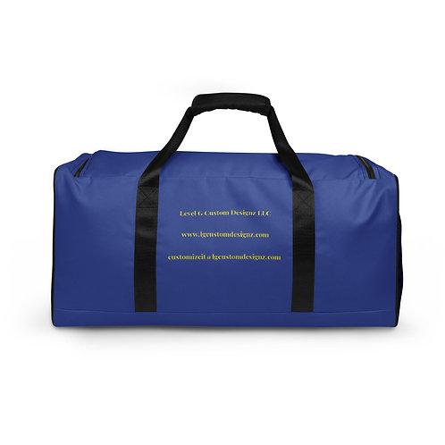 LG Custom Designz Duffle bag