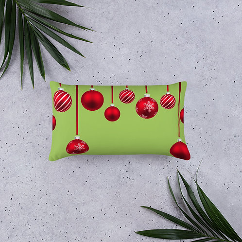 Holiday Ornament Basic Pillow