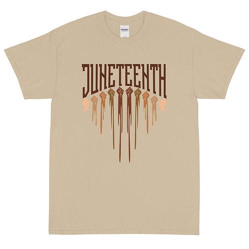 Fist Arc Juneteenth Short Sleeve T-Shirt