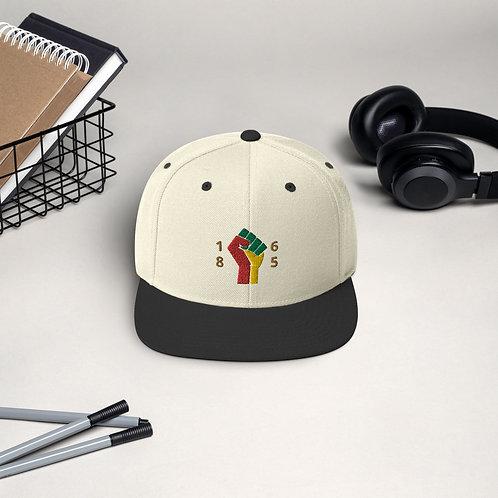 Juneteenth fist Snapback Hat